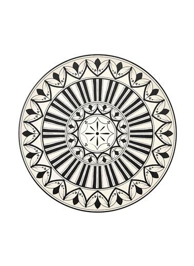 The Mia Maroc Servis Tabağı 6lı Set - 26 cm Beyaz